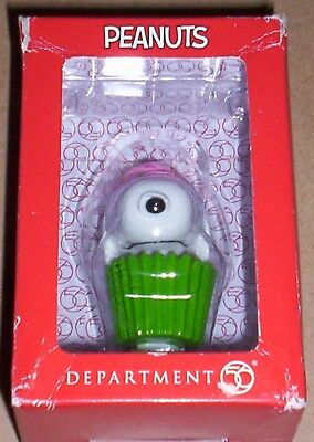 Snoopy by Design Department 56 Cupcake Canine DISPLAY ONLY PIECE