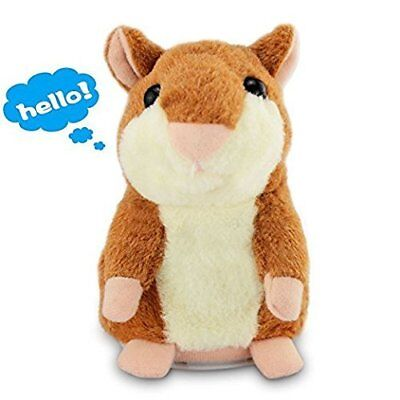 Talking Hamster Electronic Plush Toy Mouse Pet Sound Gift Children Plush Cute