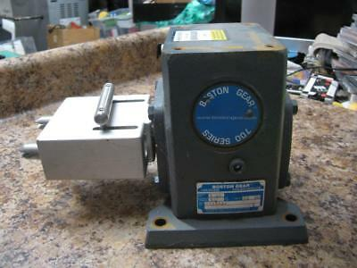 Boston Gear 700 Series 718B60J Right Angle Gearbox, 60:1 Ratio 527 in-lbs Output