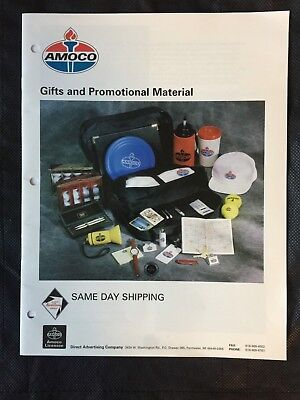 Amoco Gifts and Promotional Material Brochure / Catalog - Very good condition