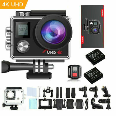 Campark ACT76 Action Camera 4K UHD WiFi Waterproof DV Camcorder Sports Cam 170°