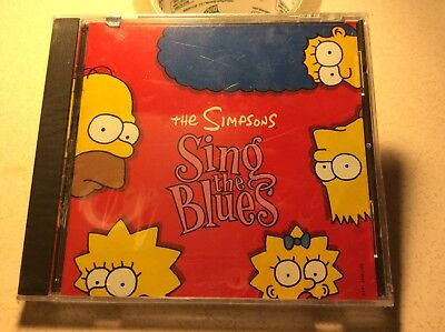 The Simpsons Sing the Blues by The Simpsons (Cartoon) (CD, Dec-1990, DGC) Rare