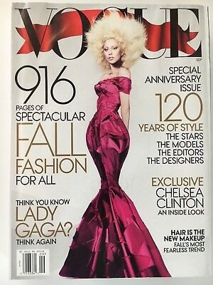US VOGUE - September 2012 Lady Gaga Cover - 916 Pages
