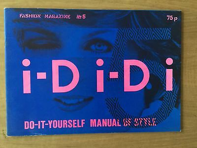 i-D magazine - No.5 - 1981 - DO-IT-YOURSELF manual - Lady Di cover