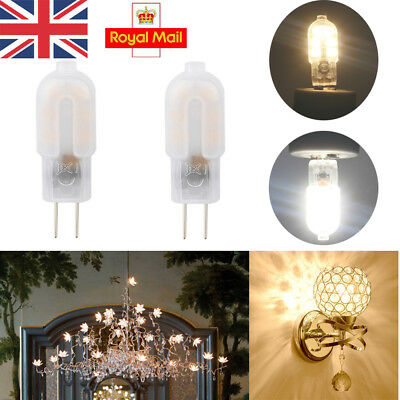 UK G4 LED 2W Capsule Bulbs Replacement for G4 Halogen Lamp DC 12V Energy Saving
