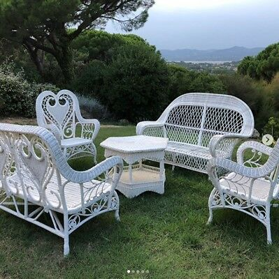 Beautiful Salon De Jardin Rotin Vintage Pictures - House Design ...