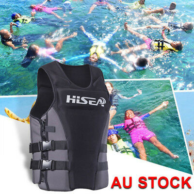 Adult Kid Life Jacket Premium Neoprene Vest Water Ski Wakeboard PFD 150 XS-3XL