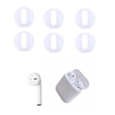 Transparent Super Thin Silicone Eartips Earbuds Cover For Apple Airpods iPhone