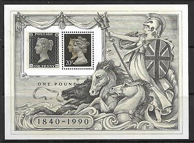 MS1501 1990 Penny Black Miniture sheet UNMOUNTED MINT