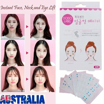 Instant Face, Neck and Eye Lift, Lift Face Sticker Lift Face Tapes and Bands FK