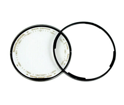 Hourglass pro Trek Mineral Glass round with Seal for Casio PRW-1300T PRW-130