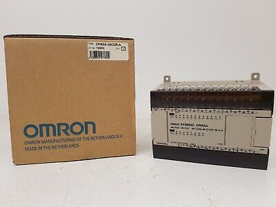 Omron Cpm2A-20Cdr-A Plc Cpu 20 I/O 12 In 8 Out 24Vdc