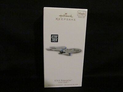 "2010 Hallmark ""U.S.S. ENTERPRISE"" - MAGIC - BRAND NEW - MIB - NEVER DISPLAYED!"