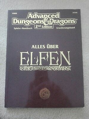 AD&D / Advanced Dungeons & Dragons 2nd Edition Alles über Elfen Top