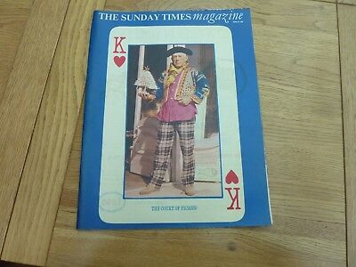 1966 April Sunday Times Magazine - Picasso - New Young British Actors Complete