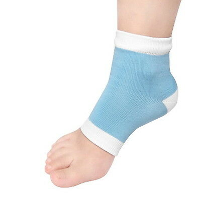 1Pair Moisturising Gel Heel Sock Cracked Foot Dry Hard Skin Protector  VC