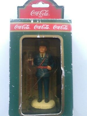 1992 Coca-Cola Officer Pat Town Square Collection