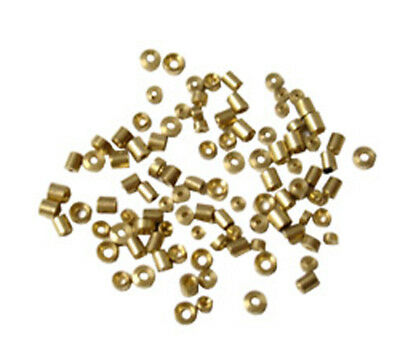 New 100pc Brass Bushing Assortment for Grandmother, Wall & Mantle Clocks (BLG08)