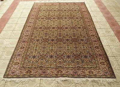 Gorgeous Rare 1940's Turkish One-of-a-kind Kayseri AnatolianHandmade Rug   7x10