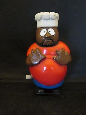 """1997 South Park Comedy Central Chef Wind Up 4"""" Tall"""