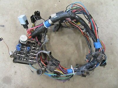 1977 pontiac ventura interior dash panel fuse box wire harness wiring