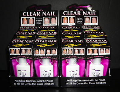 12pcs Dr G S Clear Nail Fungus Infection Remover Antifungus Treatment 0 6oz New