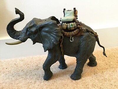 CHAP MEI LARGE Battle Elephant with seat electronic trumpet makes noise  kids toy