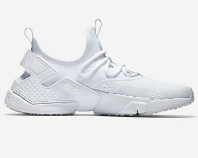 the latest c0dc4 50a2f Hommes Nike Air Huarache Force Br AO1133 100 Baskets Chaussures Blanches