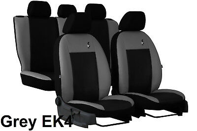 "TOYOTA HILUX 2005-2016 ECO LEATHER /""EXCLUSIVE/"" FRONT SEAT COVERS TAILORED"