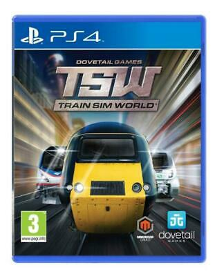 PlayStation 4 : Train Sim World (PS4) VideoGames Expertly Refurbished Product