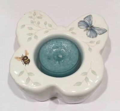 Lenox Butterfly Shaped Tea Light Holder from Butterly Meadow Collection