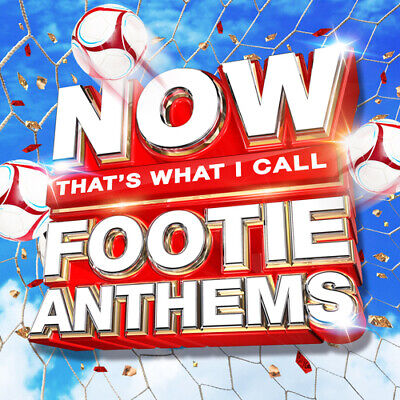 Various Artists : Now That's What I Call Footie Anthems CD (2018) Amazing Value