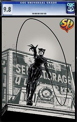 Catwoman 4 Foil Cover CGC 9.8  *fast tracked*