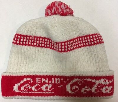 48f4af6ba COCA-COLA BEANIE HAT 100 Years Red NEW FREE SHIPPING - $10.25 | PicClick