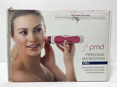 $199 New in Box PMD Pink Personal Microderm PRO Device