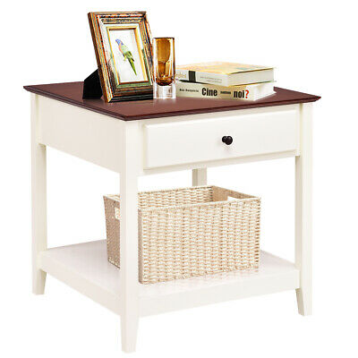 Side Table Moroccan Style Square End Table Night Stand New