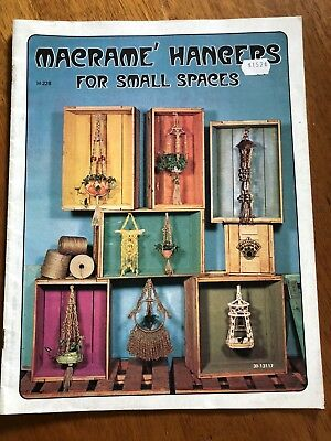 Macrame Hangers For Small Spaces - Craft Course Books 1975