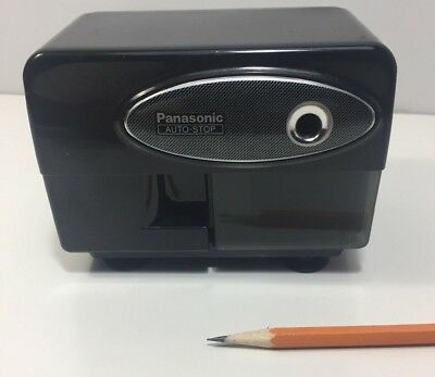 Panasonic KP-310 Electric Pencil Sharpener Black Auto Stop, fast shipping    -32