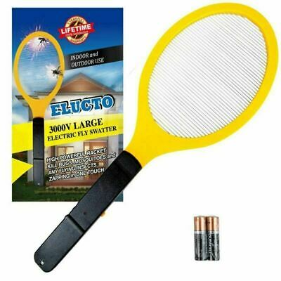 Large Electric Bug zapper Fly Swatter Zap Mosquito Indoor Outdoor Pest Control