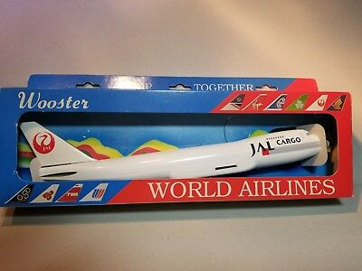 Wooster (W165) Japan Air Lines Cargo 747-200 1:250 Scale Plastic Snapfit Model