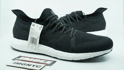 factory price 09060 517f6 Adidas Am4Nyc New Size 13 Black White Running Speed Factory D97214