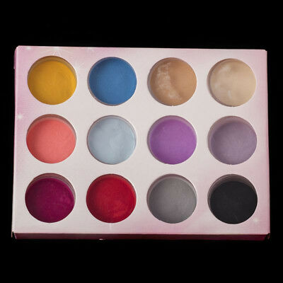 12 COLORS ACRYLIC Nail DIPPING POWDER Pigment Manicure Carving