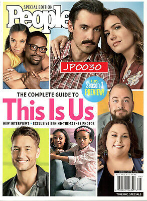 People Special 2018, The Complete Guide to This Is Us, Brand New, Factory Sealed