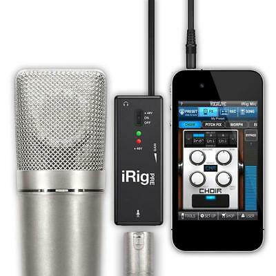 IK Multimedia iRig Pre Mic Audio Interface für iPad iPhone & iPod Touch