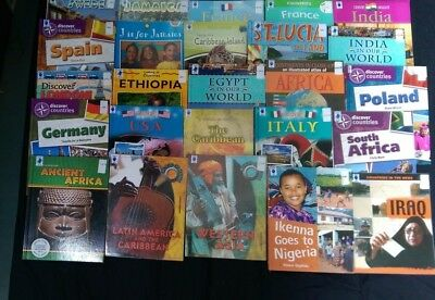 Countries: Box of 25 Children's Educational Books