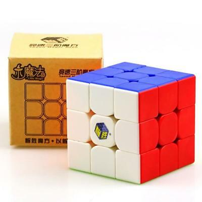YuXin Little Magic 3x3x3 Twisty Puzzle Cube Speed  Magic Cube  5.5CM Stickerless