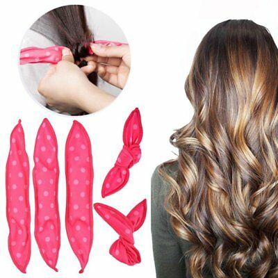 5/10PCS Kawaii Long Hair Curlers Curl Formers Leverage Rollers Spiral lot Beauty