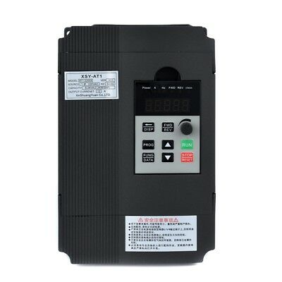 Variable Frequency Drive Inverter 2.2KW 3HP VFD Control Single Phase PWM UK