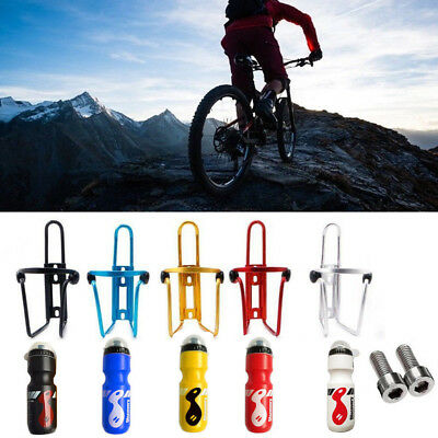 750ML Outdoor Water Bottle / Holder Cage Rack mountain MTB Cycling Bike Bicycle
