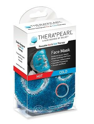 Therapearl Face Mask Reusable Hot & Cold Therapy Ice or Heat Pack